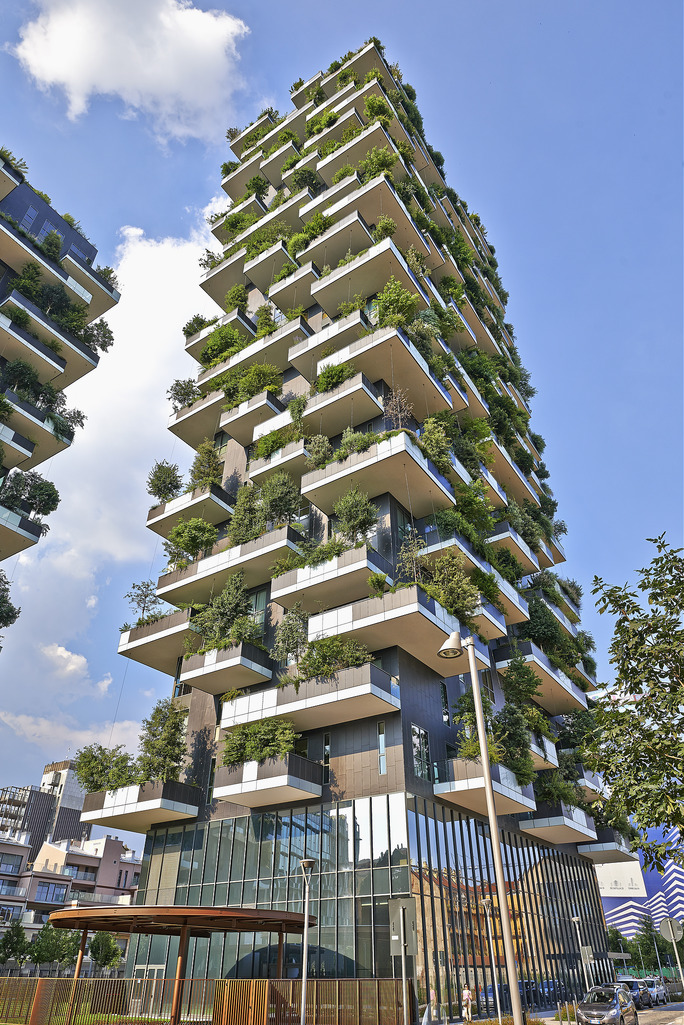 Vertical Forest Buildings Of The Future Will Produce